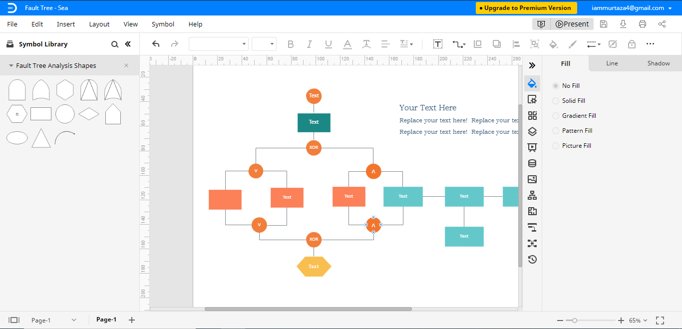open fault tree analysis template