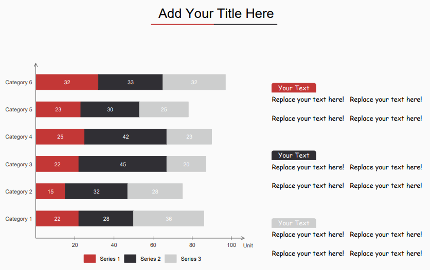 stacked bar chart template