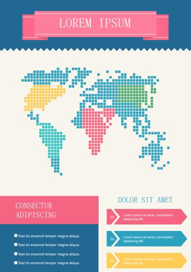 map flyer