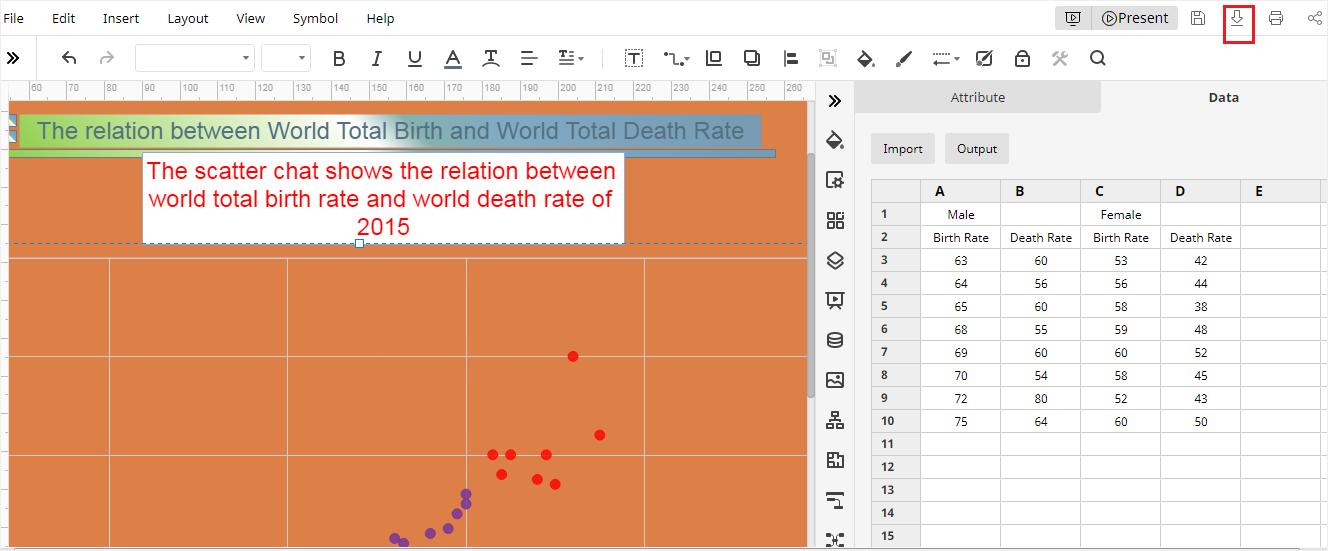 download scatter plot