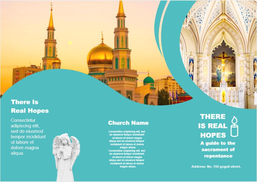 church profile brochure