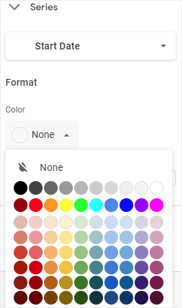 change bar color