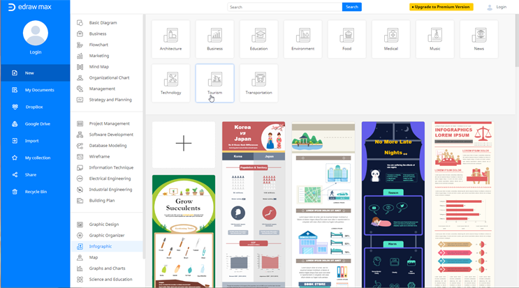 free infographic maker online