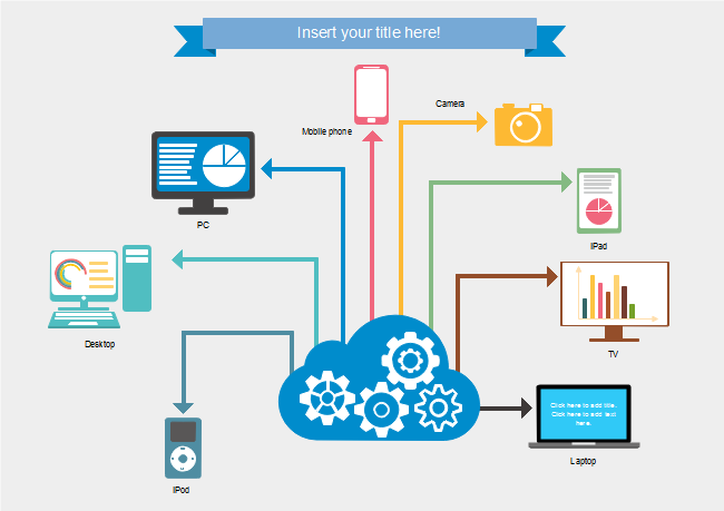 technology products infographics
