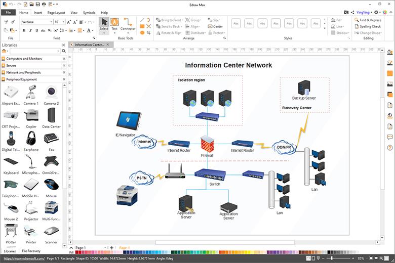 network diagram