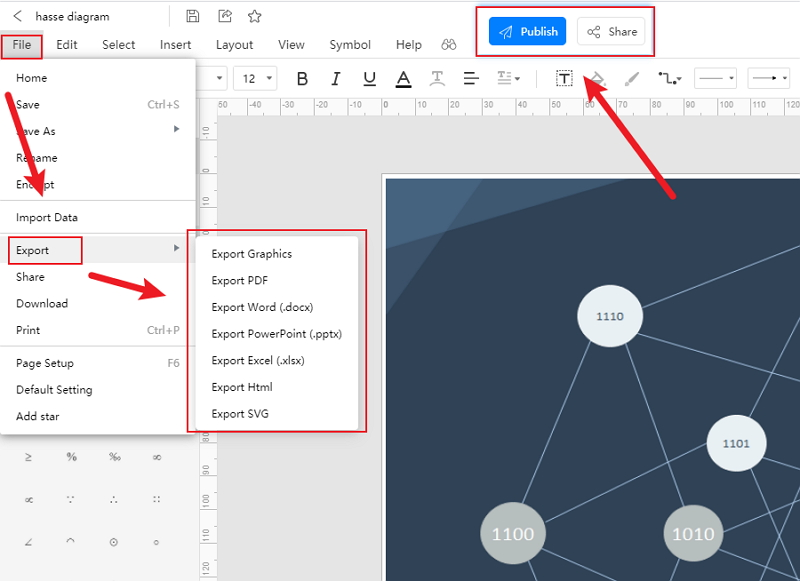 How to Create Hasse Diagram Online