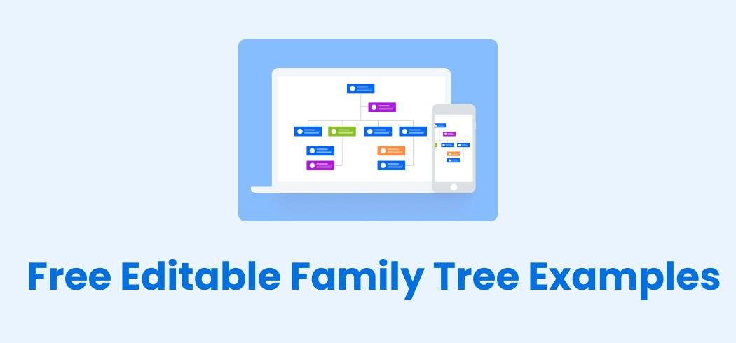 Free Editable Family Tree Examples