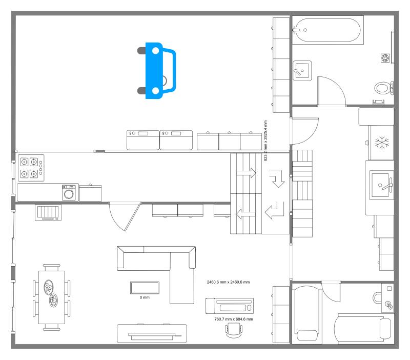 House With Car Garage Floor Plan