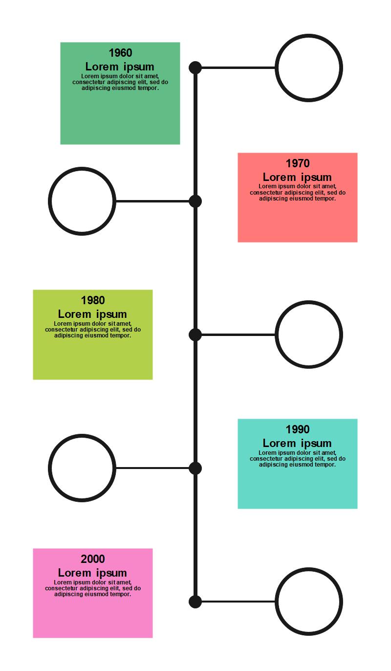 Blank Timeline Template Word