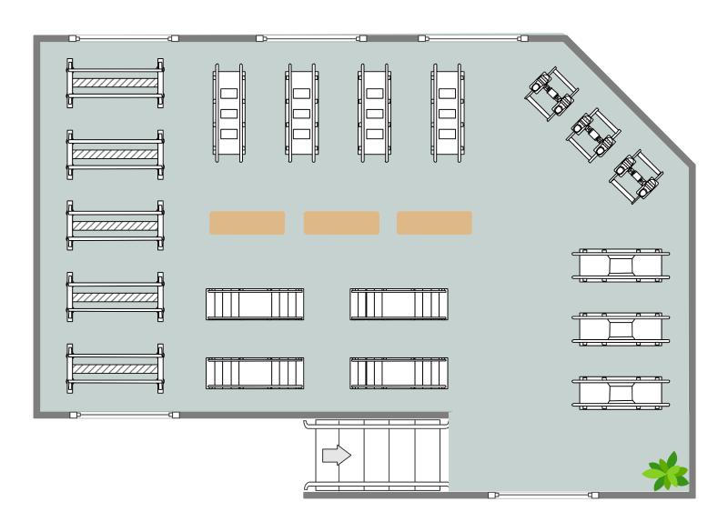 Rehabilitation Center Floor Plan