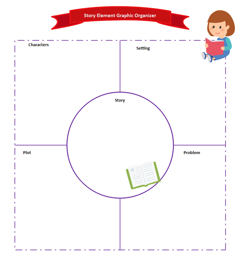 6.Story Elements Graphic Organizer Worksheets
