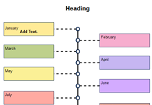 Monthly Timeline Graphic Organizer