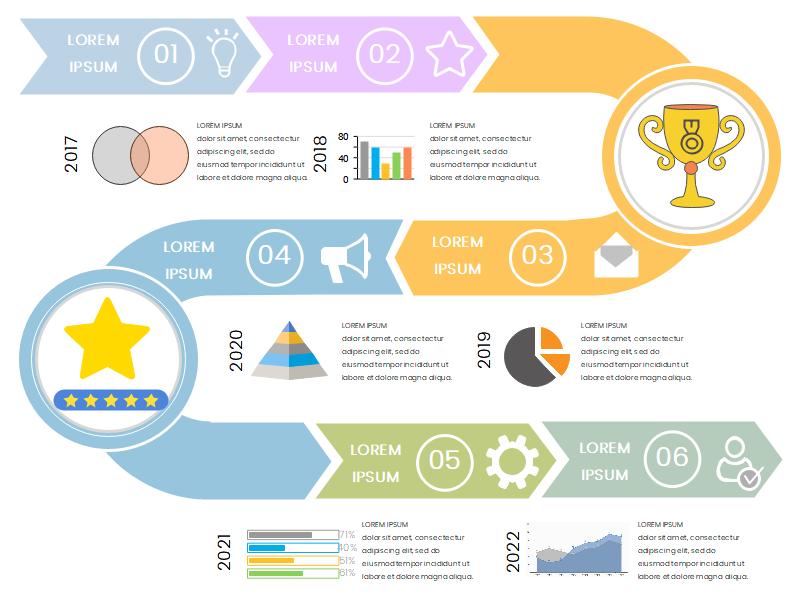 Timeline Infographic PPT
