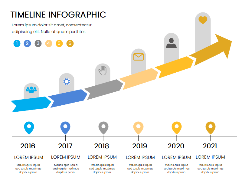 Company Timeline Infographic