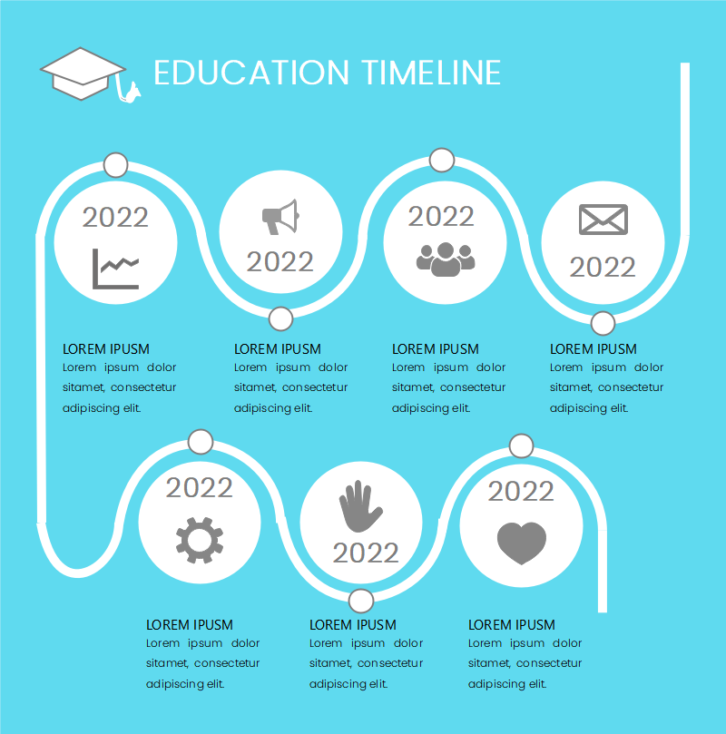 Process Timeline Infographic