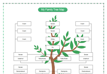 My Family Tree Map