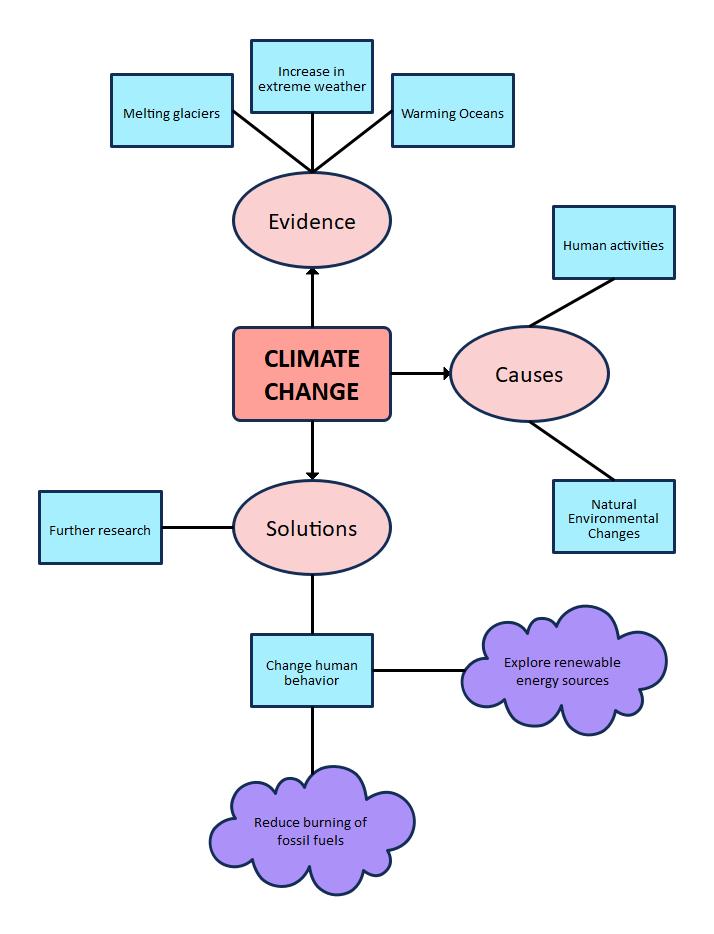 Concept Web Graphic Organizer