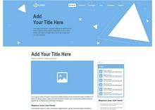 Detailed Blog Wireframe