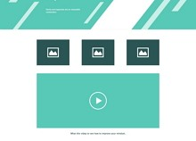 Home Page Wireframe Design
