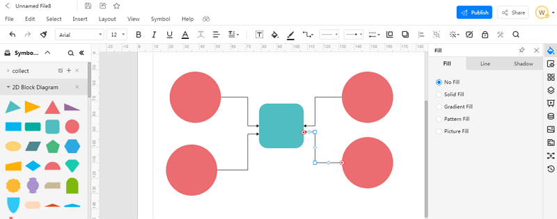 How to Make An block diagram in EdrawMax