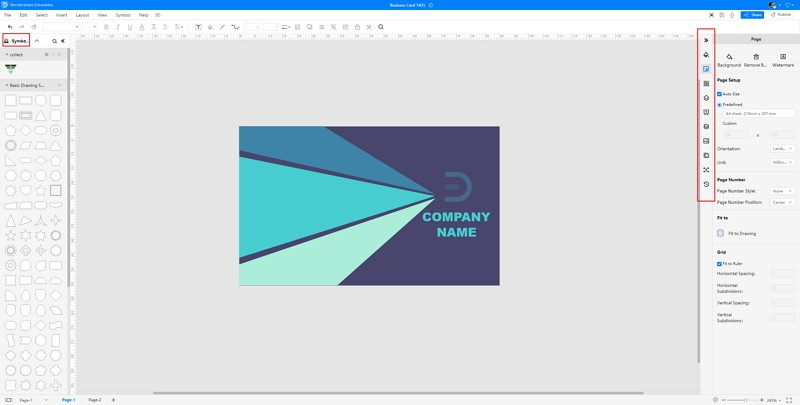 How to Make A Business Card in EdrawMax