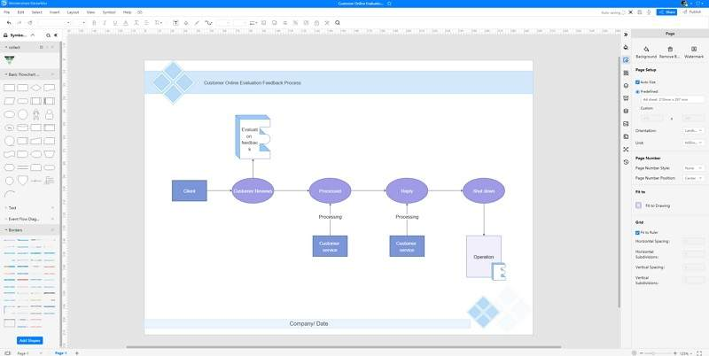 How to Make A Flowchart in EdrawMax