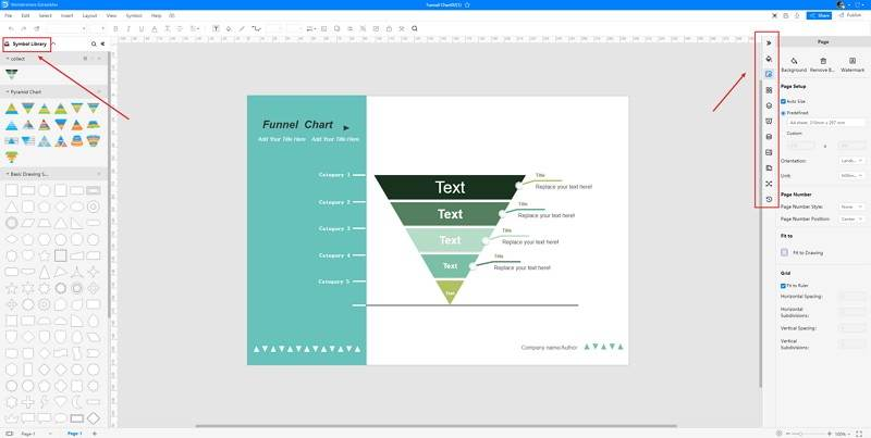 How to Make A Funnel Chart in EdrawMax