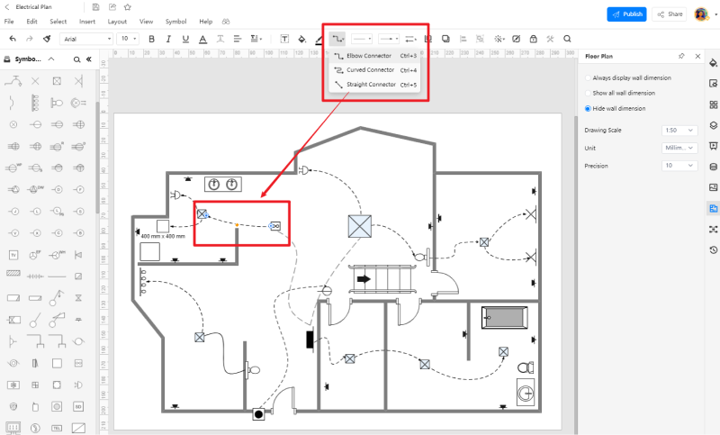 How to Create a House Wiring Circuit Diagram