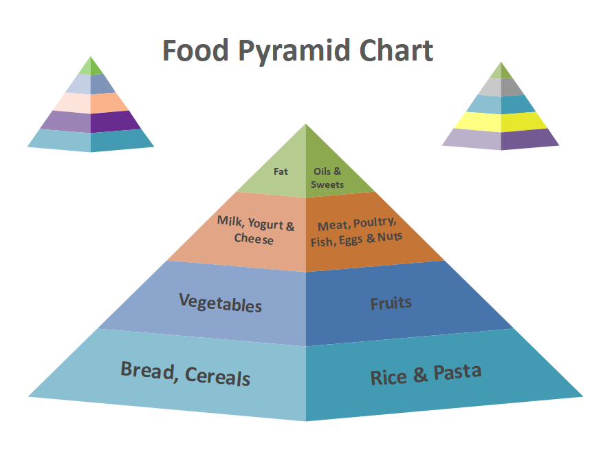 Pyramid Diagram Template PowerPoint