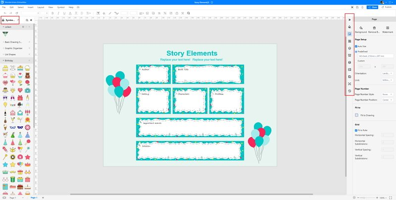How to Make A Storyboard in EdrawMax