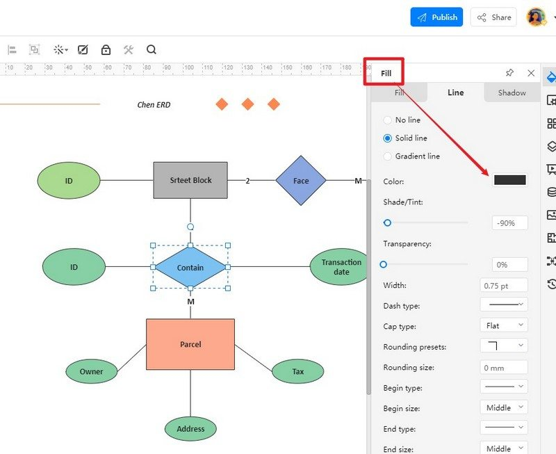 How to Make an ER diagram in EdrawMax