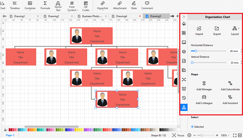 How to Make A org chart from Scratch