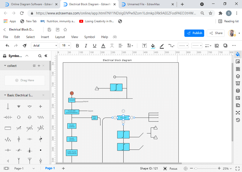 how to make a block diagram online