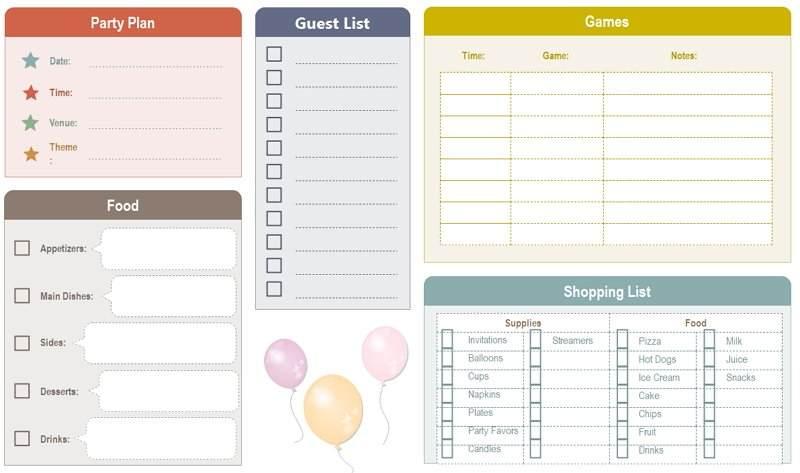 Checklist Template Google Docs