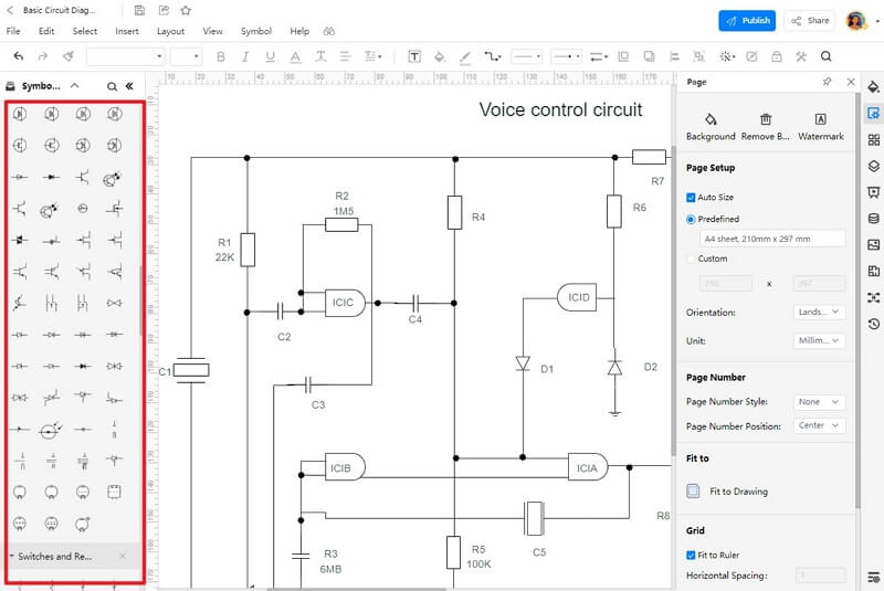How to Create a Circuit Diagram