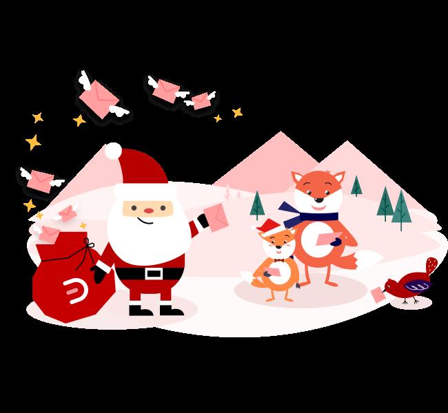 Christmas Card Sharing