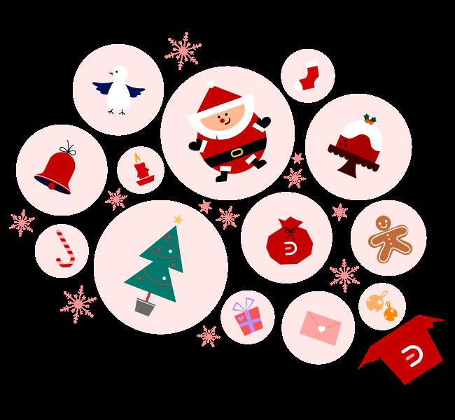Christmas Card Design Elements