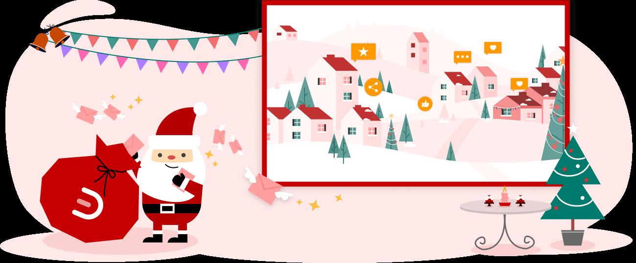 EdrawMax Christmas Card Maker