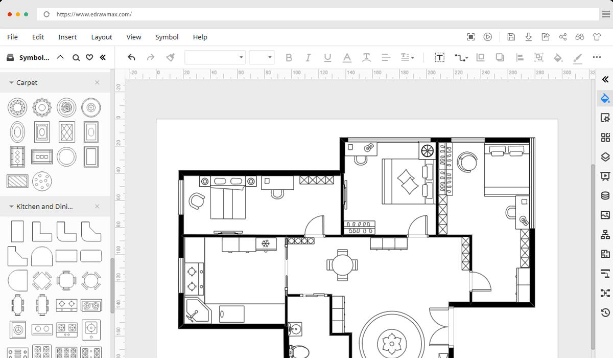 Floor Plan Creator - Free & Online - EdrawMax