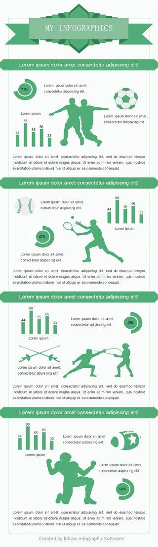 best sport infographic