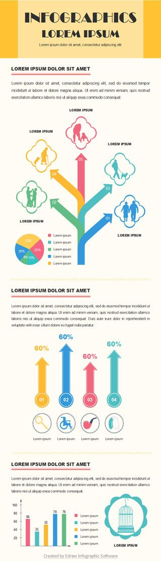 elderly people infographic