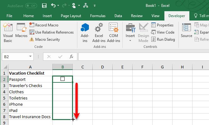 how to make a checklist