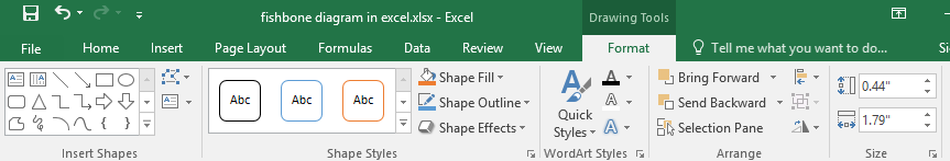How To Create A Fishbone Diagram In Excel Edraw Max