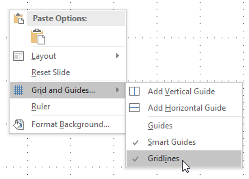 Create a grid in Microsoft PowerPoint