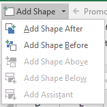 add shape after button