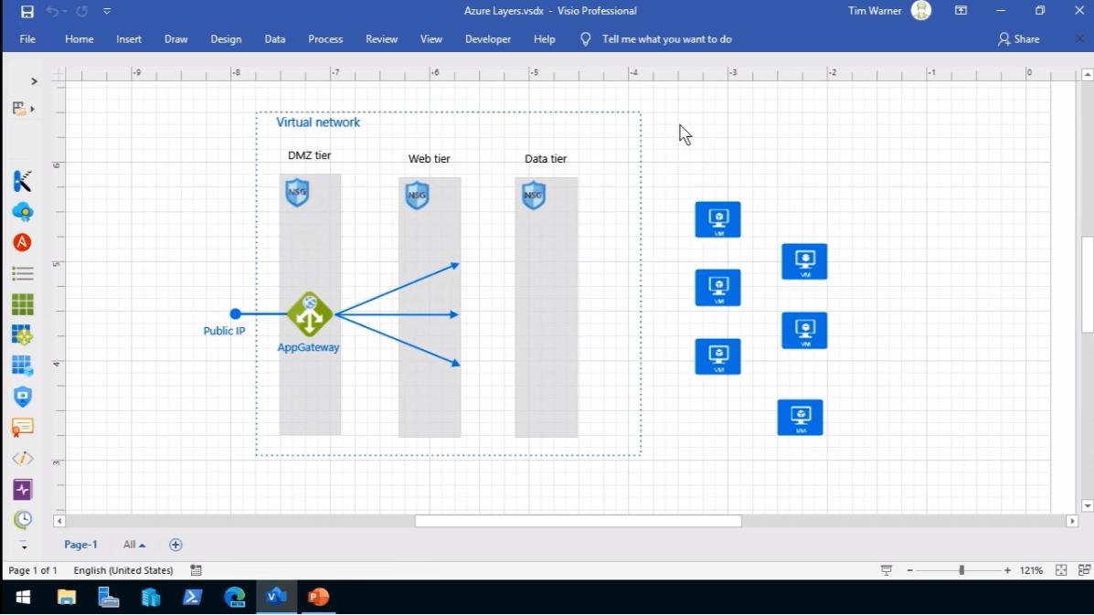 Create Azure Diagram