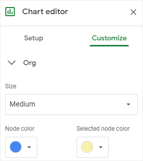 customize node color