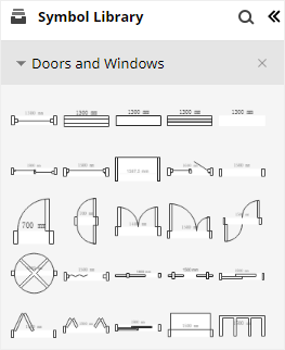 symbol 1 doors and windows
