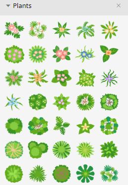 symbol 2 plants