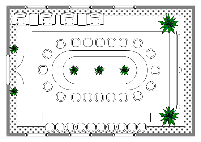 Conference Room Seating Plan
